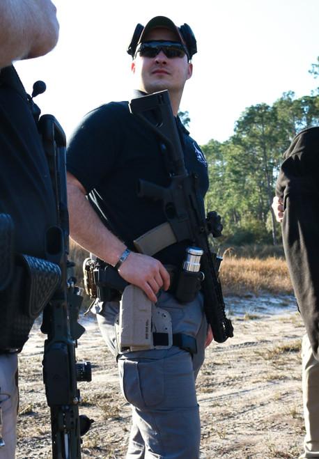 L.I.O.N. HV1 Kydex Black Holster - Belt & Vest