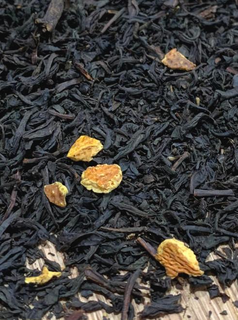 Sisters Tea Company Orange Spice Black Tea close up