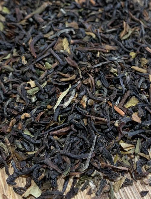 Sisters Tea Company Organic Darjeeling Makaibari Black Tea close up