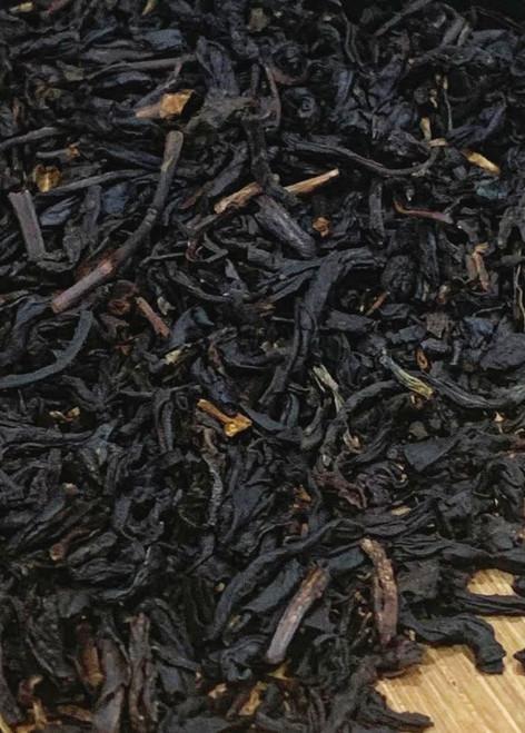 Sisters Tea Company Peach Melba Black Tea close up