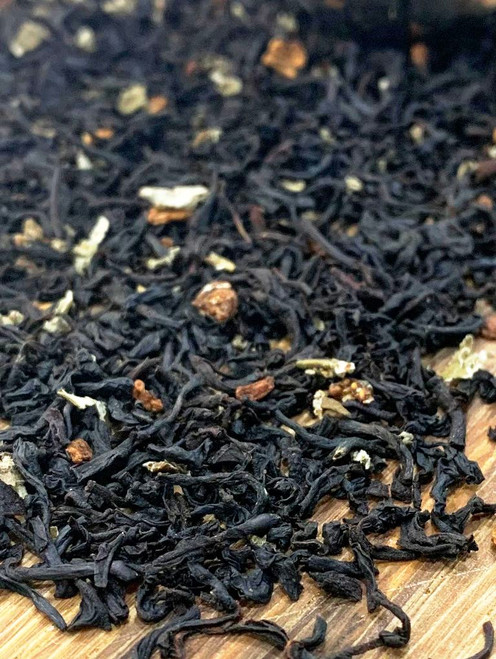 Sisters Tea Company Red Raspberry Black Tea closeup