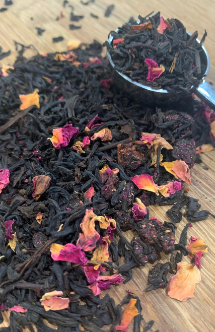 Sisters Tea Company Wild Cherry Rose Black Tea