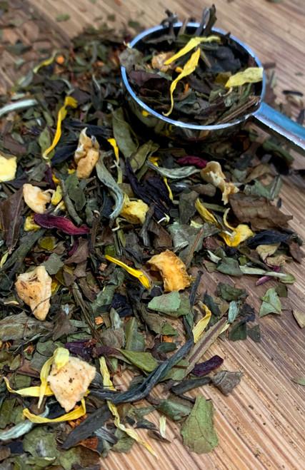 Sisters Tea Company Fuzzy Navel White Tea