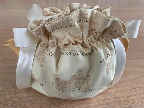 tea cozy, tea pot cozy, Downton Abbey