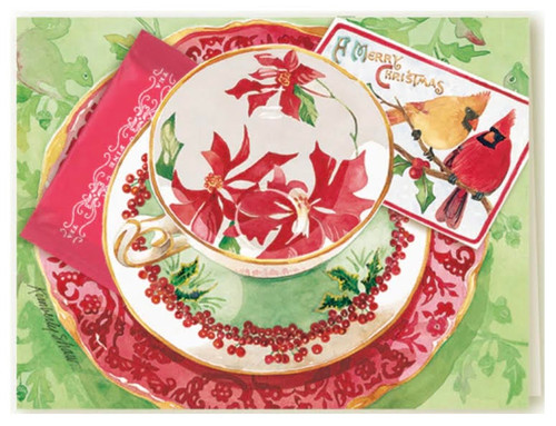 Kimberly Shaw Christmas Tea Card