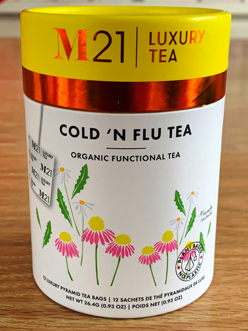 Cold n Flu Tea Sachets will help you fight the unpleasant symptoms of colds and flus.