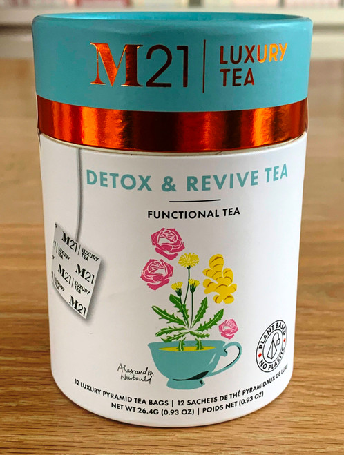 Feeling less than your best? Try this tea to help your body detox.