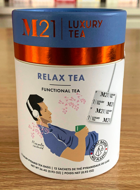 This tea is specially blended with all natural ingredients to help you relax