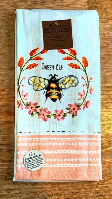 Queen Bee Be Inspired Kitchen Towel