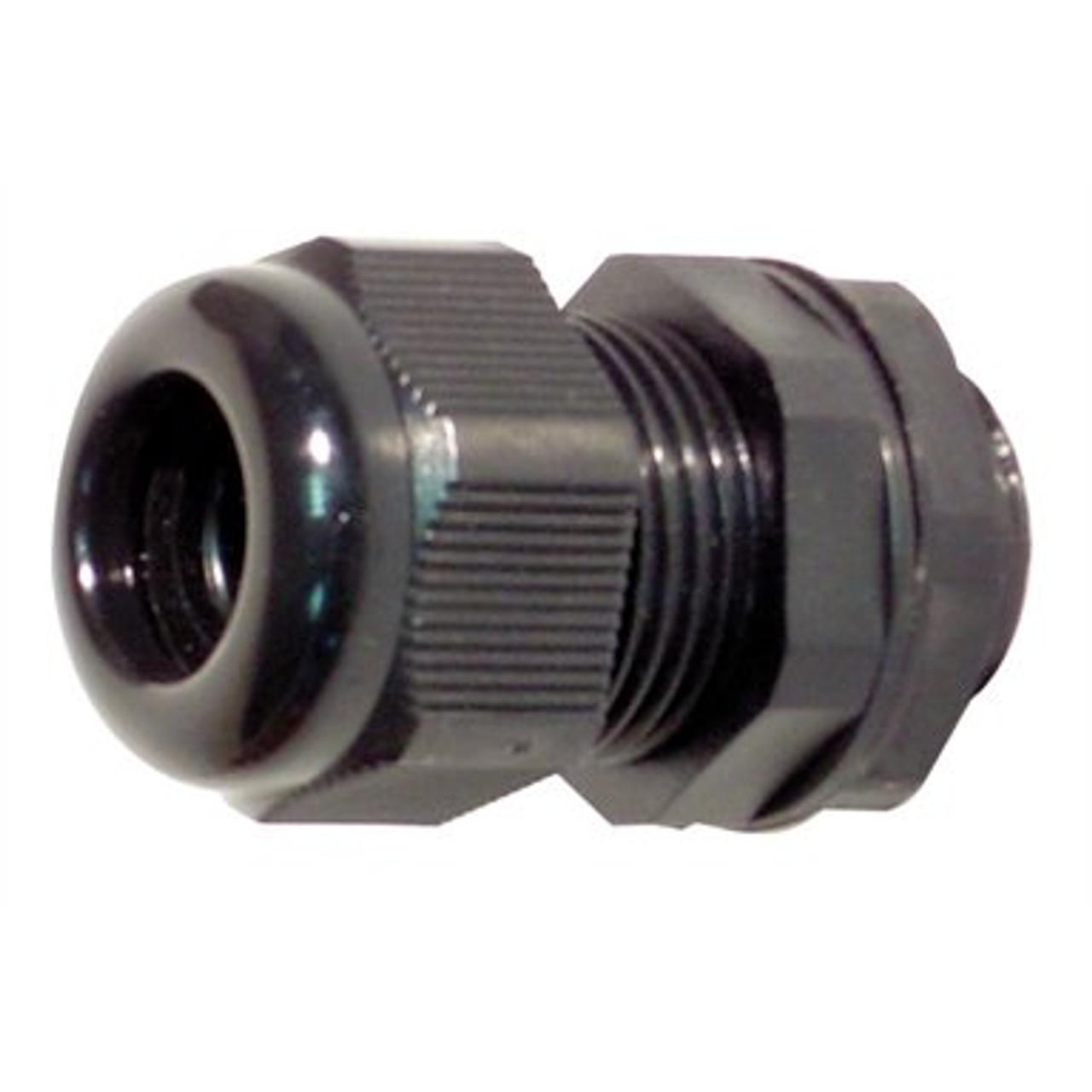 12mm Nylon Cable Gland IP68 Black