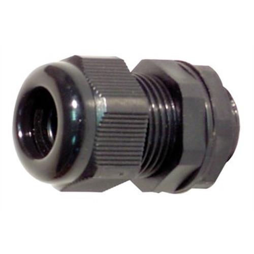 25mm Nylon Cable Gland IP68 Black