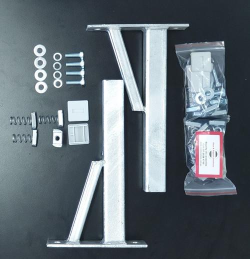 HDG Braced Cantilever Bracket (Kit) 635mm