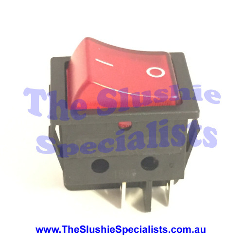 Donper Switch Main Red, 9313006202