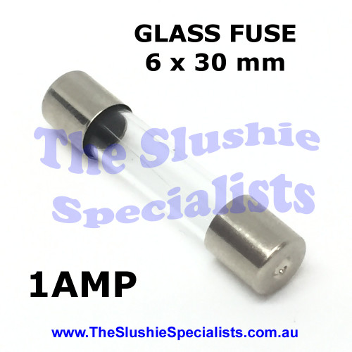 Glass Fuse 6x30mm 1Amp - 344000600