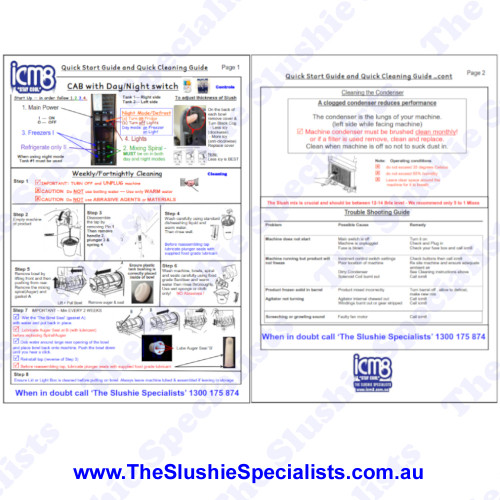 Sample of CAB Faby Laminated Manual