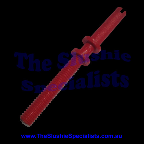 GBG Density Adjustment Pin Red This screw goes inside of the density indicator Manufacturer Part Number: SL300950079 SKU: 1720300079  Colour: Red Material: Plastic Part numbers: SL300950079, SL3GS12035A