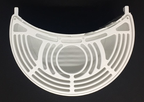CAB Skyline Drip Tray White Complete Crescent shape drip tray with insert Manufacturer Part Number: GV2MODW16