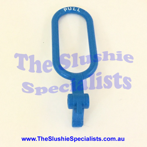 BRAS - Tap Handle Oval Pull Blue