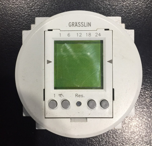Glasslin Timer Daily Digital FMD/150 Code: 03.60.0002.1 Rev.02
