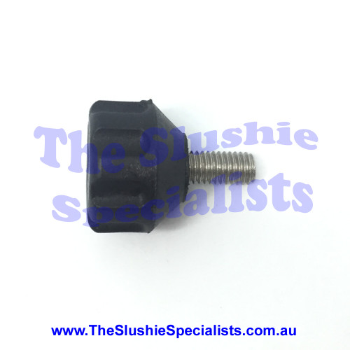 BRAS - Thumb Screw Black for Condenser Panel, 10028-03303