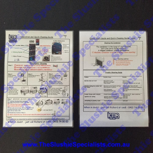 Summary Instructions Manual - CAB Skyline DOWNLOAD ONLY