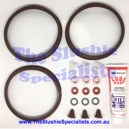 Icetro / Jetice - Complete Replacement Seals Kit: 3 Bowl