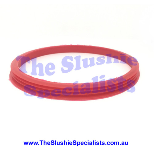 Hosk Rear Tank Seal Red, 1804125121