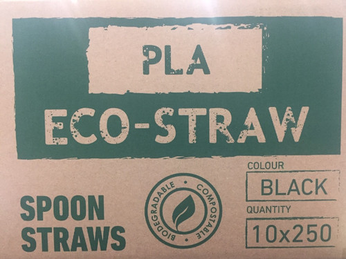 PLA Eco- Spoon Straw