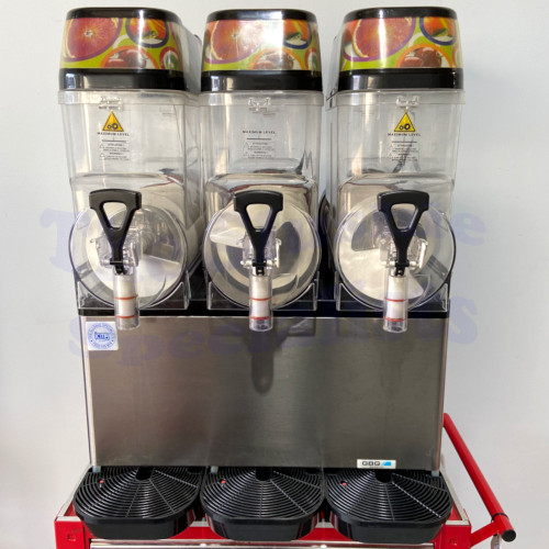 GBG Triple Bowl Slushie Machine Pre-loved Black