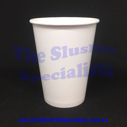 Plain White 12oz/350ml Paper Cup