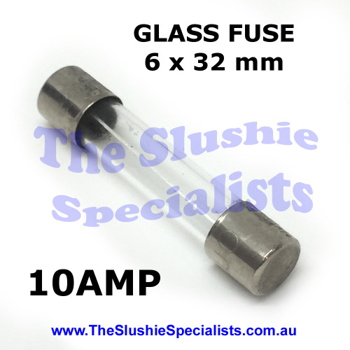 Glass Fuse 6 x 32mm 10 Amp