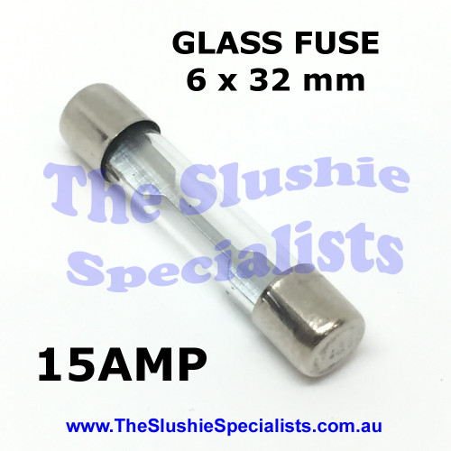 Glass Fuse 6 x 32mm 15 Amp