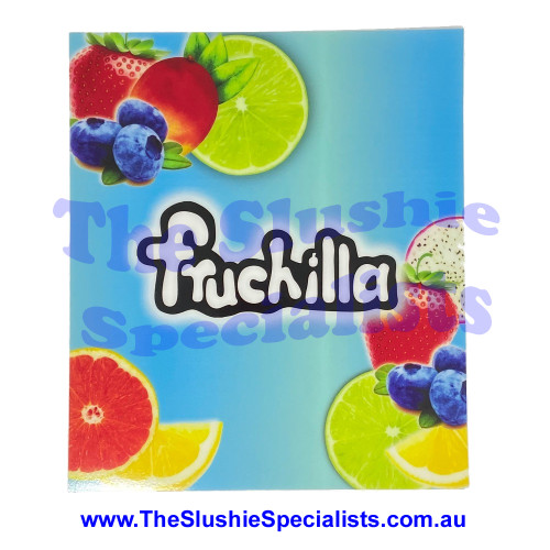 Decal Fruchilla to suit CAB Front Panel 1220186001