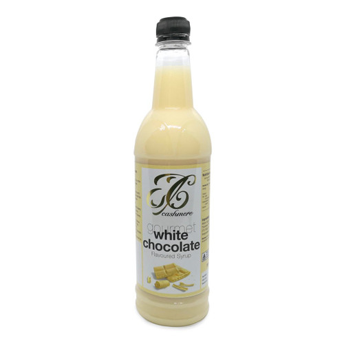 Cashmere White Chocolate Flavoured Syrup