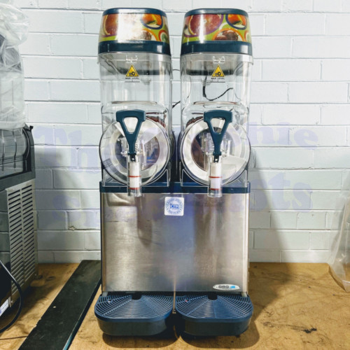 Reconditioned GBG Twin Bowl Slush Machine with New Bowls