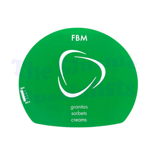 Bras FBM Green Rear Display Decal - 22800-29060