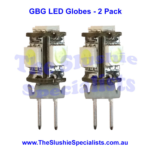 LED Globe - GBG (2 Pack) G4 5SMD CW