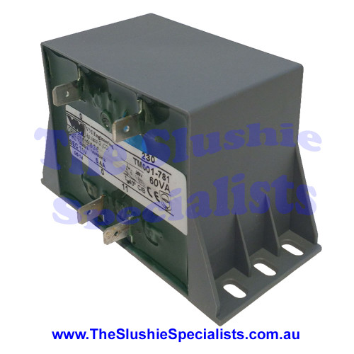 CAB Transformer 60VA 230V 50/60Hz,  Side Angle,  F049/4, 1214049400