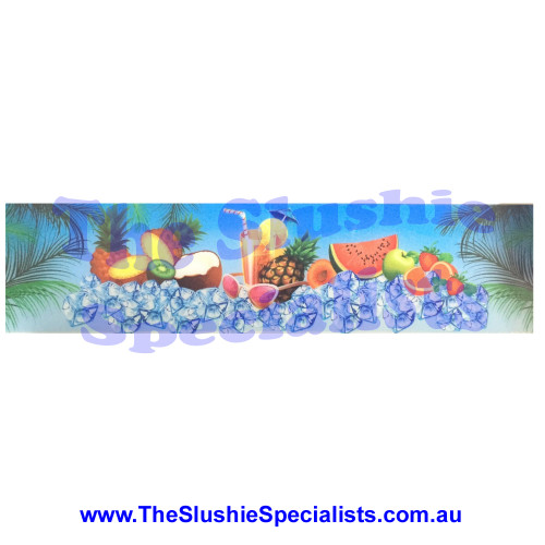Jet Ice Light Box Decal - Fruity Style