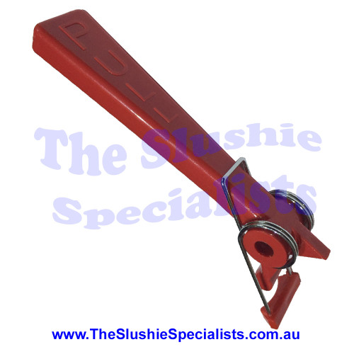 Red Pull Handle with spring, 9105668256