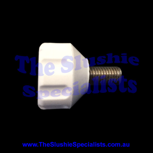 BRAS - Thumb Screw White for Condenser Panel, 10028-03360
