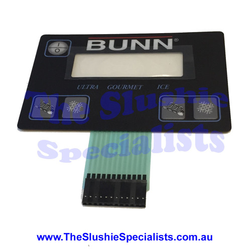 BUNN Membrane Switch Ultra 2 Black - 32126.1004