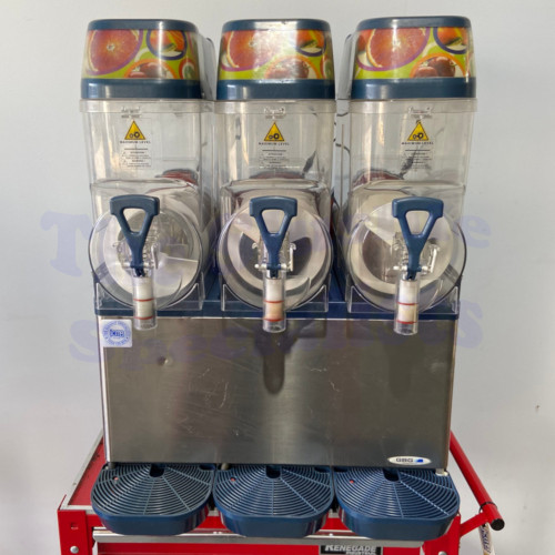 GBG Triple Bowl Slushie Machine Pre-loved Front
