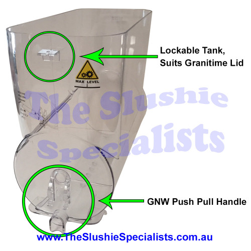 GNW Granitime Tank 12L to suit Push/Pull Style Handles SL310006937