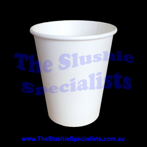 Plain White Paper Cup 8oz/250ml
