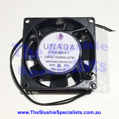 Axial Fan UNADA  IP55 - 80x80x25mm