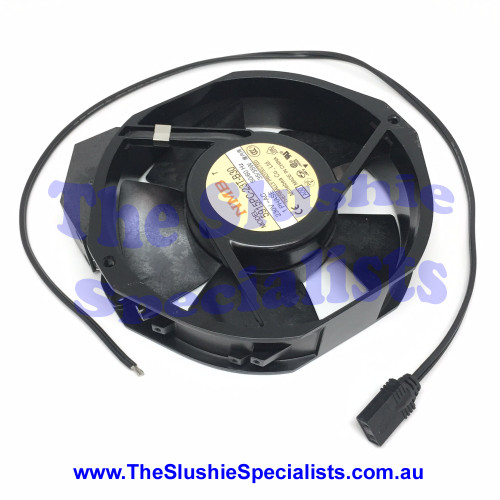 Axial Fan with connector and cable 172x150x38mm