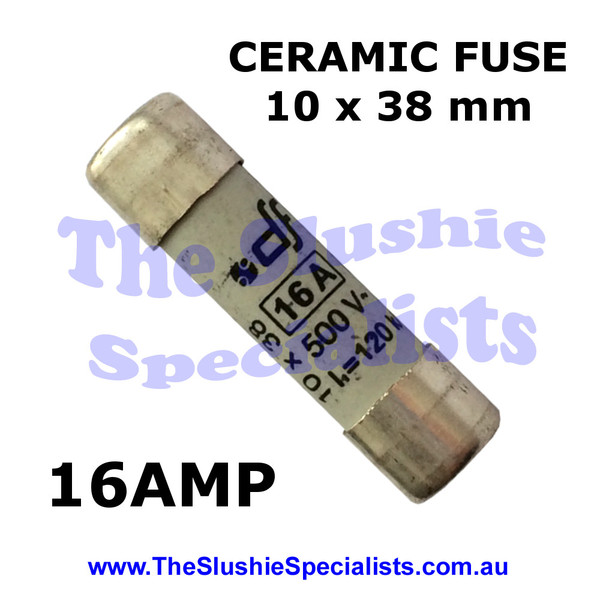 Ceramic Fuse 10 x 38 mm 16 Amp - SL300000671
