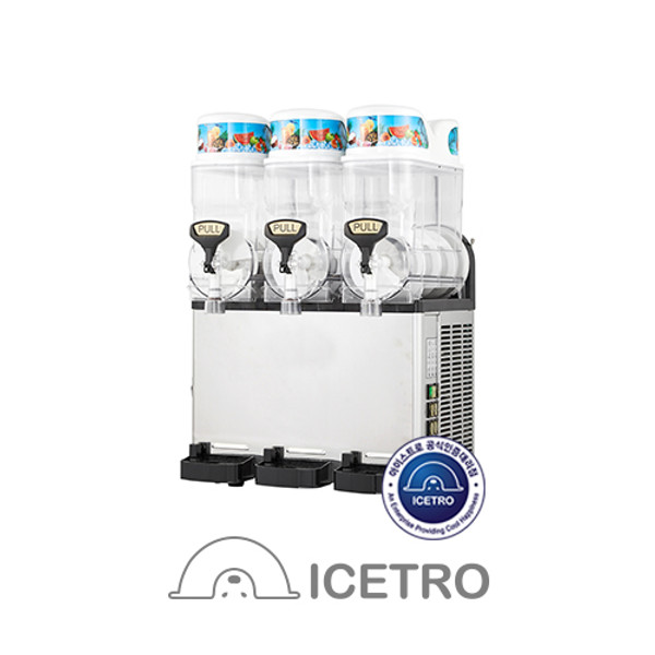 Icetro Slush Machine - SSM420 - Triple Bowl