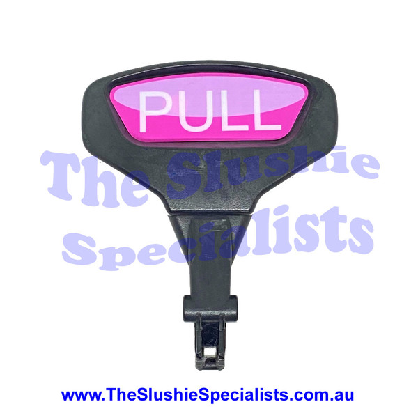 Icetro SSM-52 Tap Handle with Pink Pull Sticker